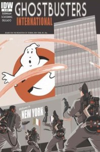 Ghostbusters International #1 Cover Image