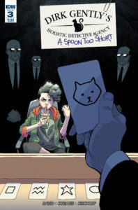 Dirk Gently's Holistic Detective Agency: A Spoon Too Short #3 Cover