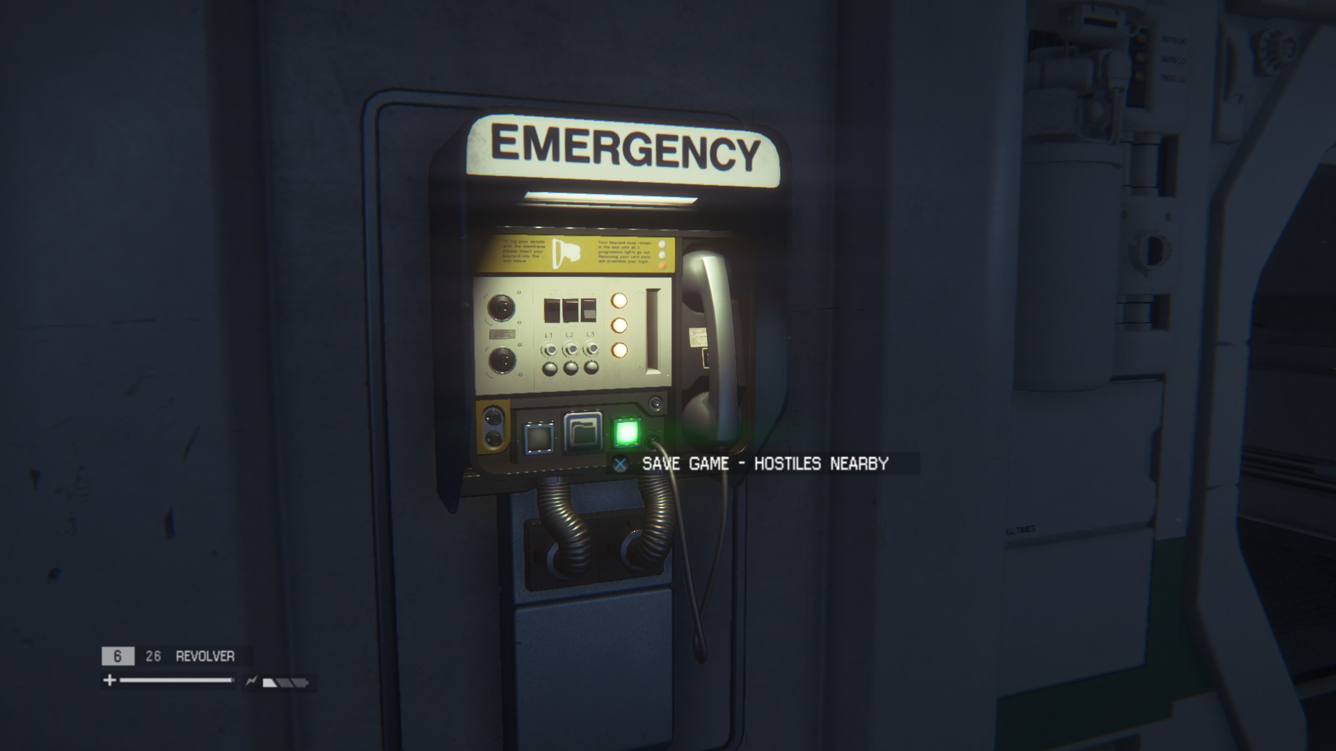 Alien: Isolation - Save station