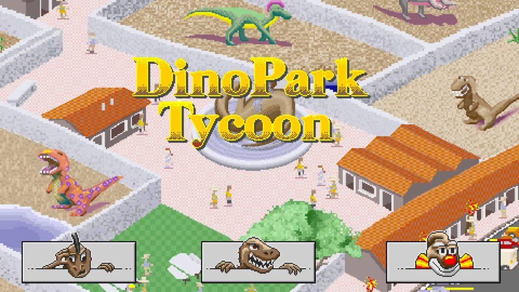 Dino Park Tycoon image courtesy of VengefulChip