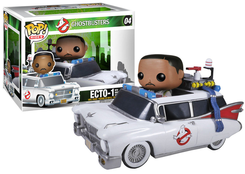 Ghostbusters Funko Ecto-1 and Winston