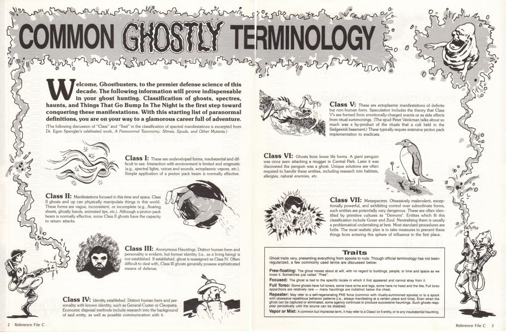 Common Ghostly Terminology