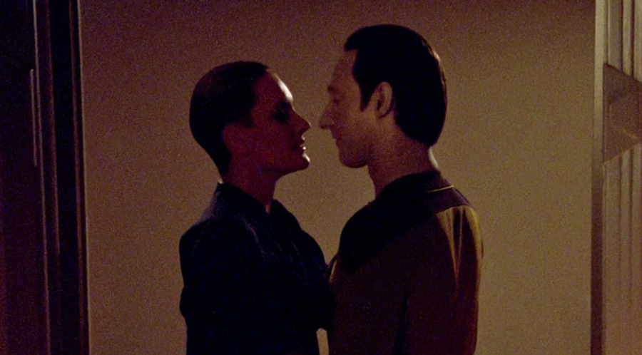 Star trek data learns about sex