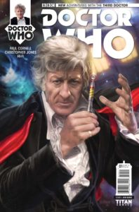 Third Doctor #1 Cover