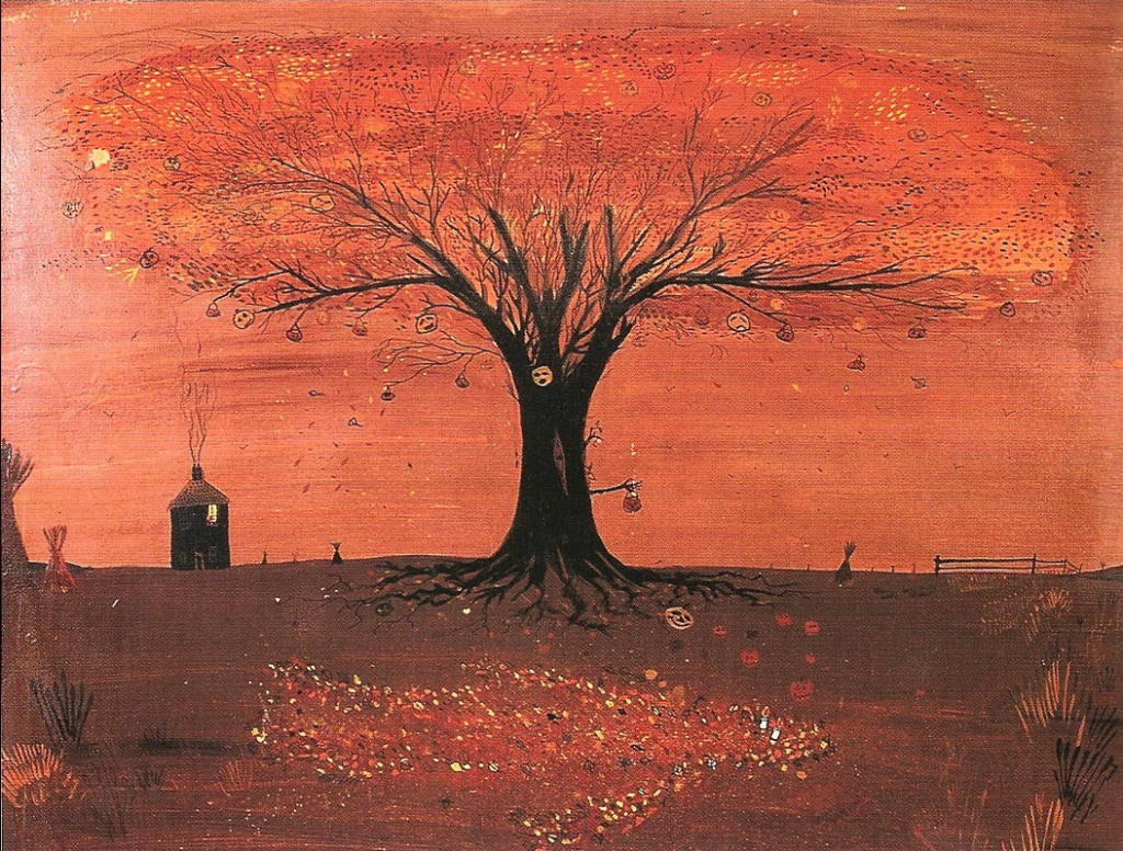 halloween-tree-painting