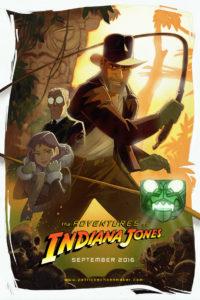 Adventures of Indiana Jones Poster
