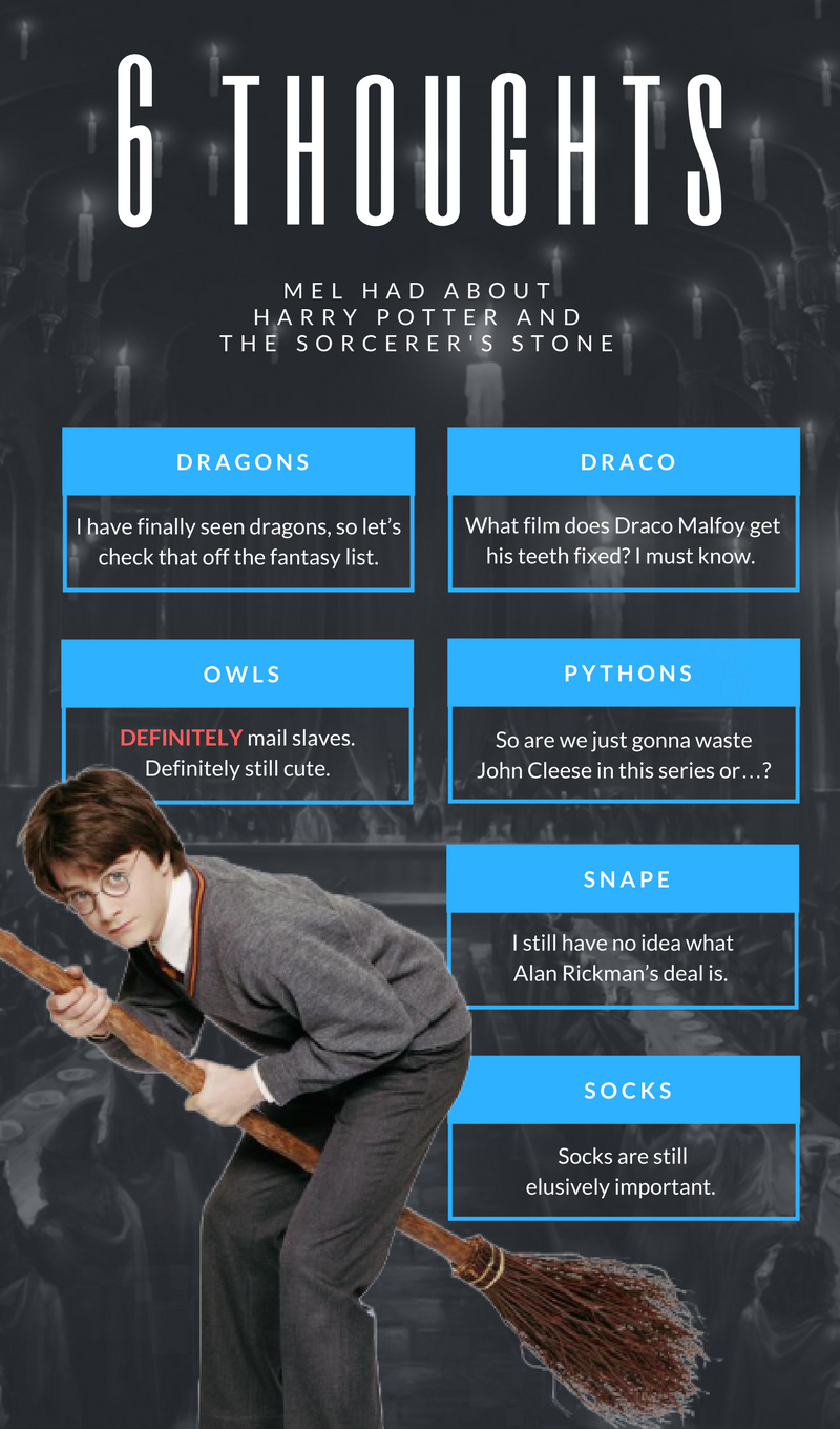 Sorcerer's Stone Infographic