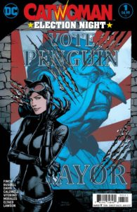 Catwoman: Election Night #1 Cover