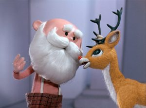 Rudolph the Red-Nosed Reindeer Santa End