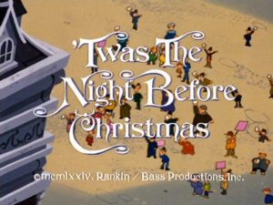 Twas the Night Before Christmas Title