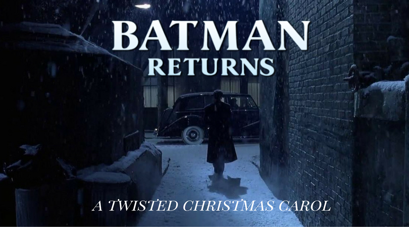 Tim Burton Christmas Carol.Batman Returns A Twisted Christmas Carol