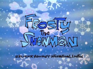 Frosty the Snowman TItle