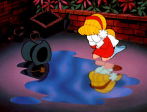 Frosty the Snowman Puddle