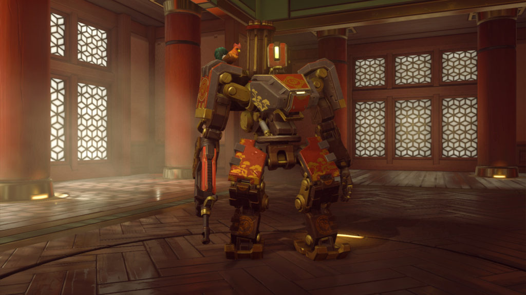 Bastion's new Rooster Skin (Epic)
