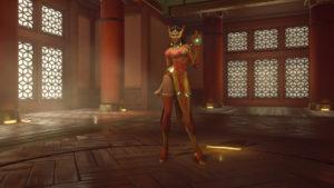 Symmetra's new Qipao Skin (Epic)