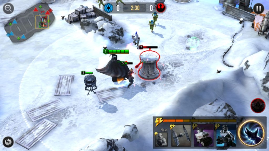 Force Arena Gameplay