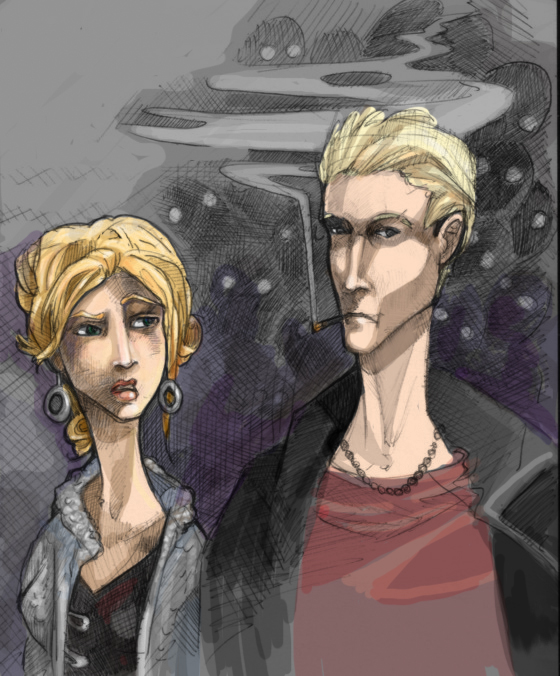 buffy_and_spike_colored_by_zirofax