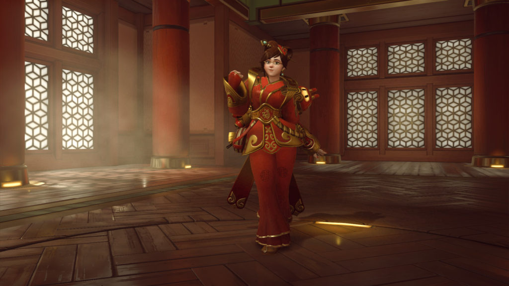 Mei's new Luna Skin (Legendary)