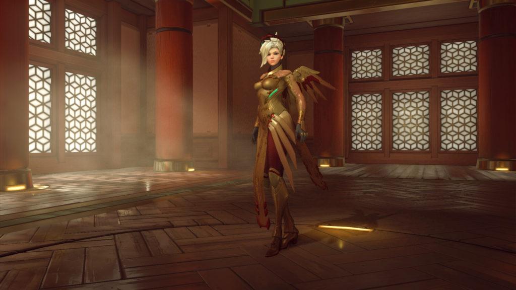 Mercy's new Golden Skin (Epic)