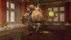 Roadhog's new Bajie Skin (Legendary)