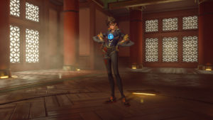 Tracer's new Rose Skin (Epic)