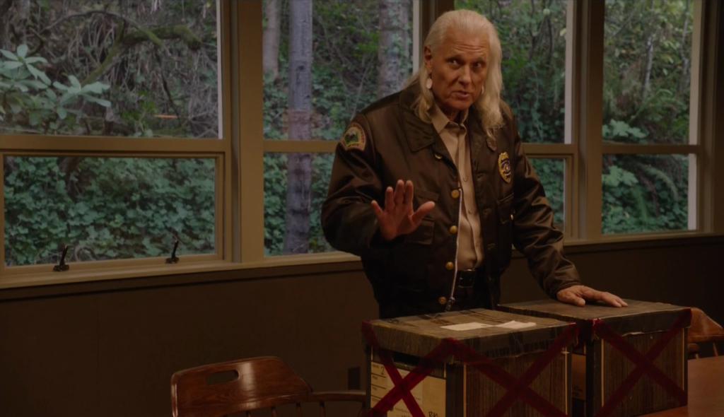 Twin Peaks Deputy Chief Hawk