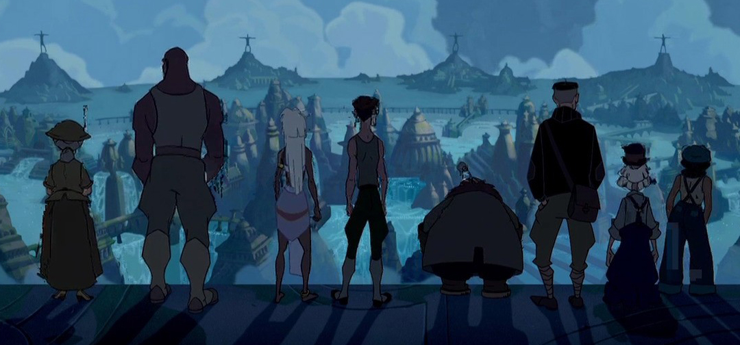 atlantis sequel, <b> &#8216;Atlantis: The Lost Empire&#8217; was supposed to have an epic sequel </b>