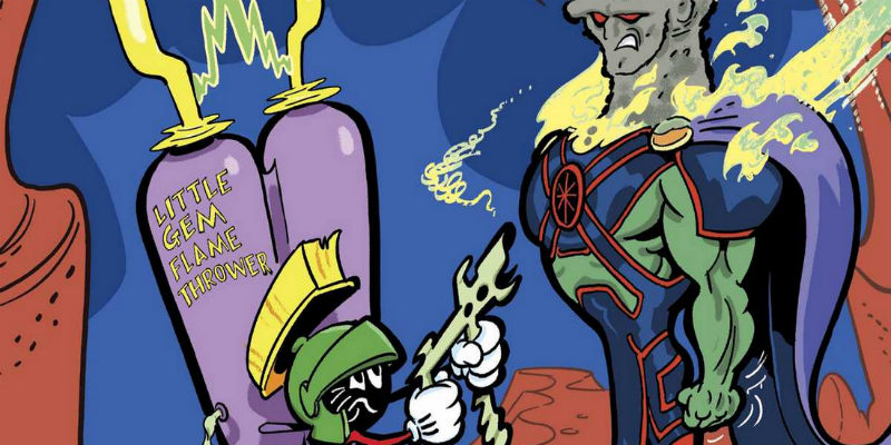 Martian Manhunter/Marvin the Martian Special