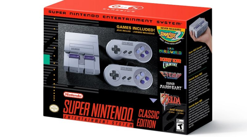 SNES Classic is Real! Coming September 29th