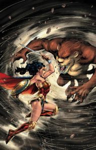 Wonder Woman/Tasmanian Devil