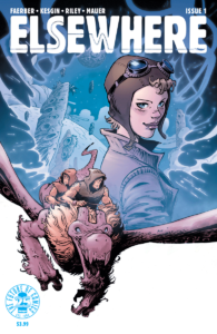 Elsewhere #1 begins the fantastic story of what really happened to Amelia Earhart – prepare to be entertained and intrigued.