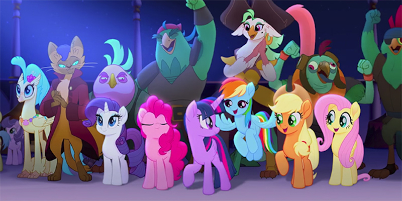 My little pony the movie мультфильм 2018 дата