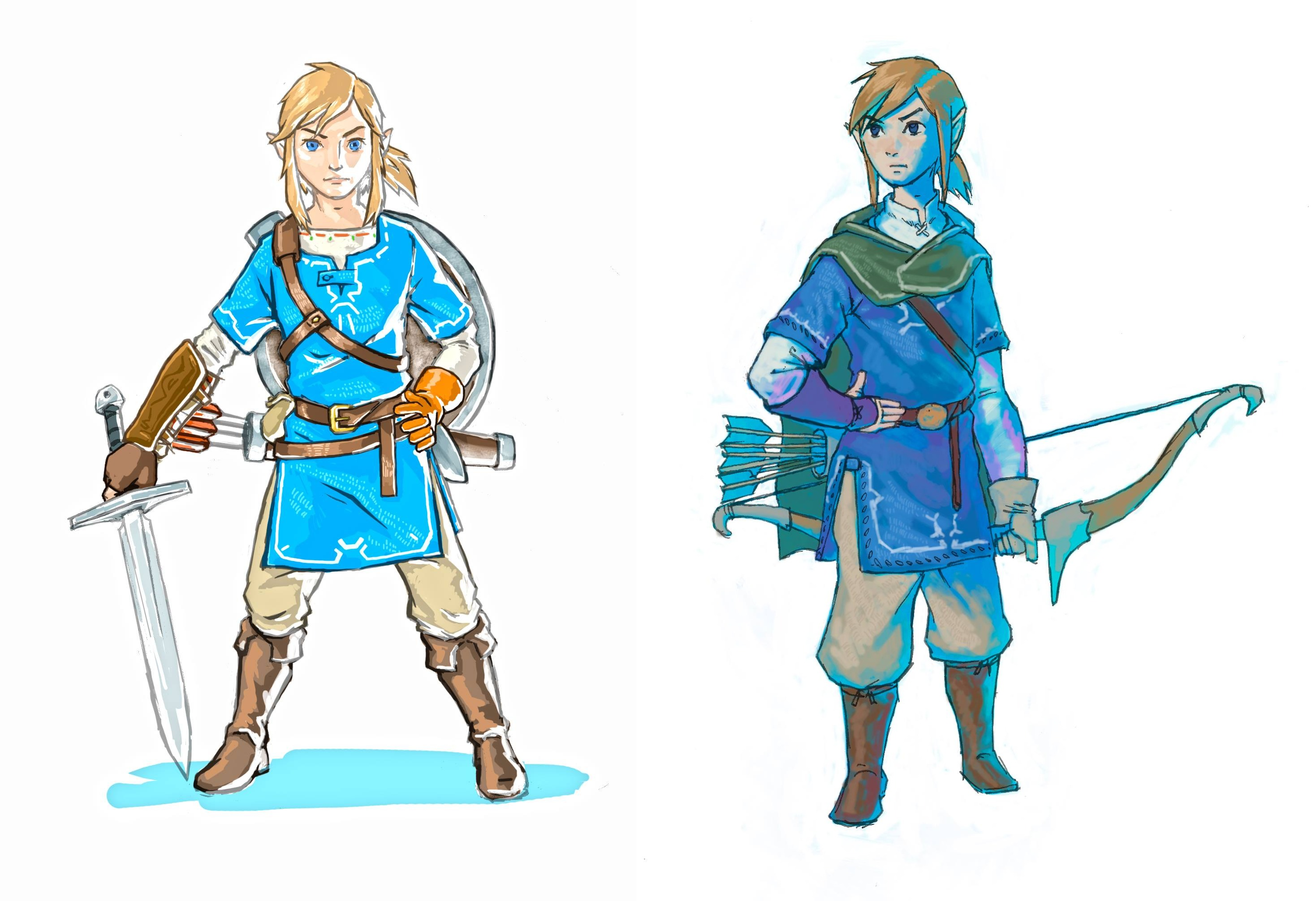 Breath of the Wild concept art