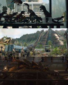 Returning Dinosaurs from Jurassic World: Fallen Kingdom