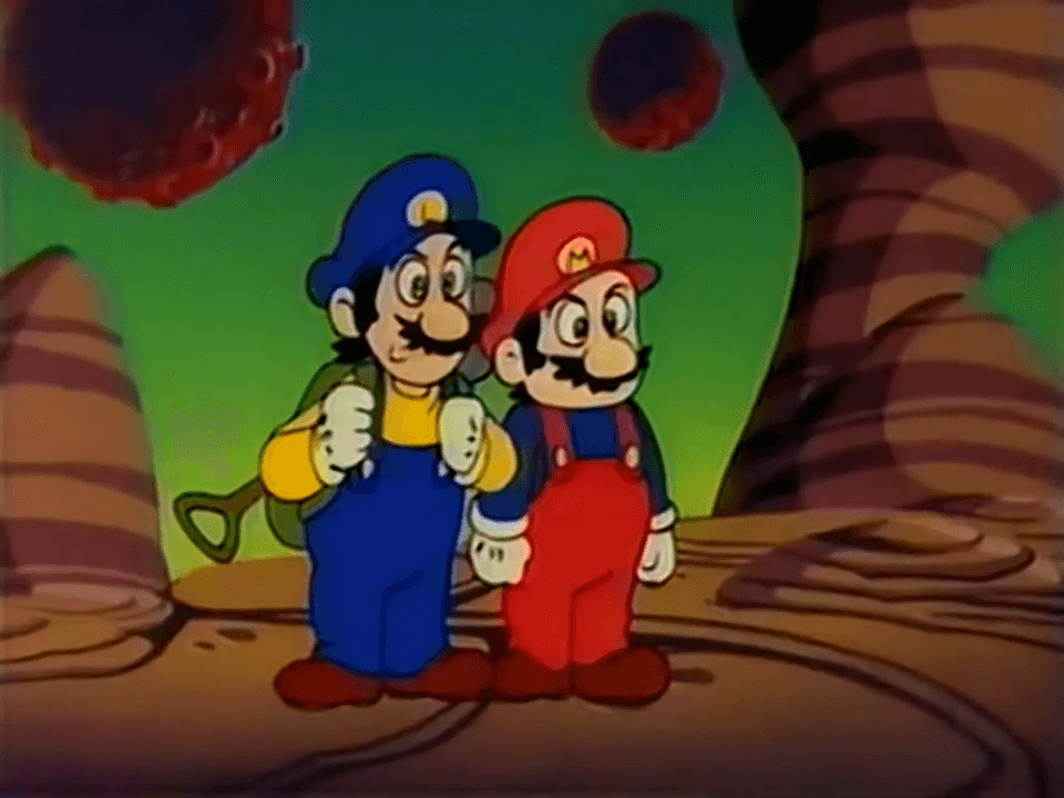 8 reasons to watch the super mario bros anime rogues portal - Mario et luigi dessin anime ...