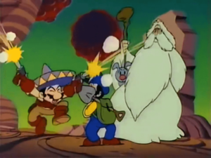 Super Mario Bros. Anime Mexican