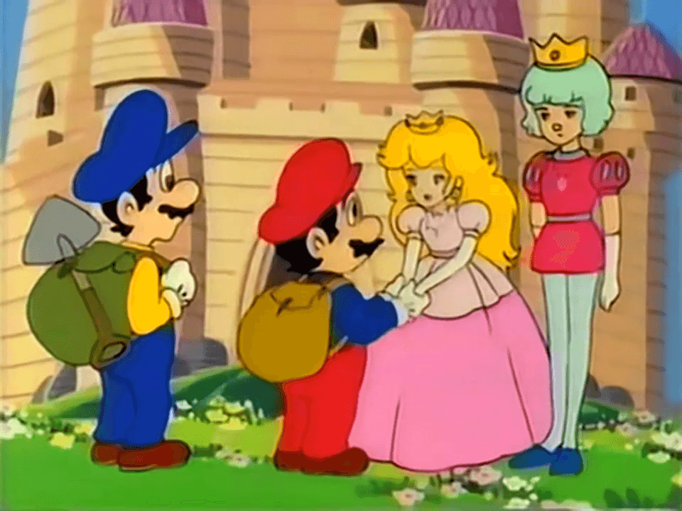 Super Mario Bros. Anime Prince Hal
