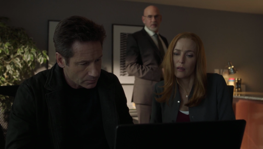 The X-Files Mulder, Skinner, Scully