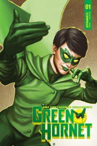 Green Hornet #1 Cover