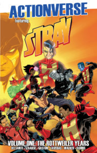 Actionverse The Stray Volume 1 cover