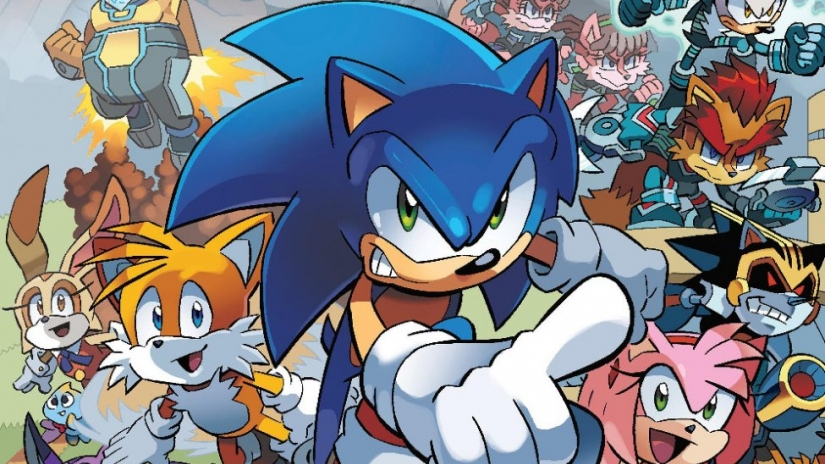 Sonic the Hedgehog #1 Review ⋆