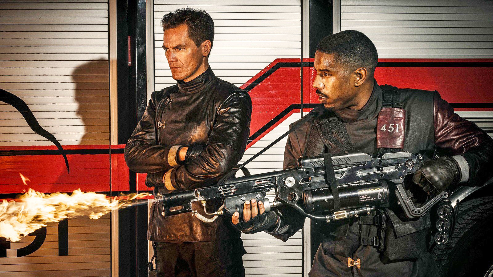 farenheit 451 review Fahrenheit 451 is television's latest book adaptation is michael b  fahrenheit  451 review: hbo adaptation could use some more heat.