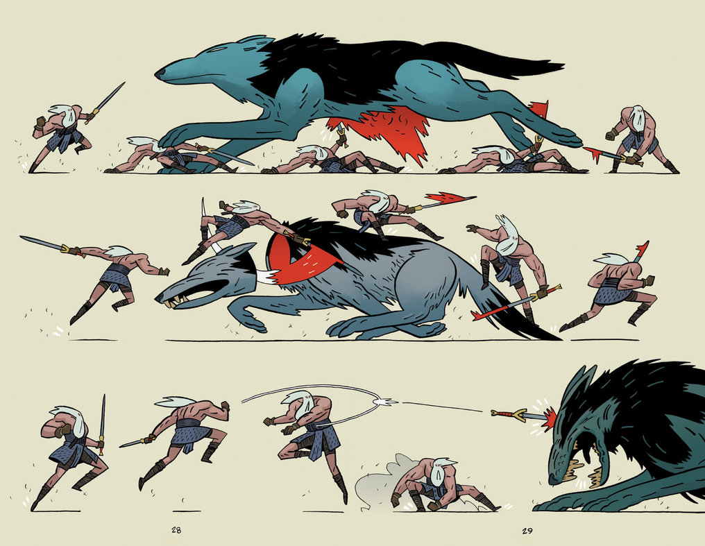 Head Lopper Wolf Action