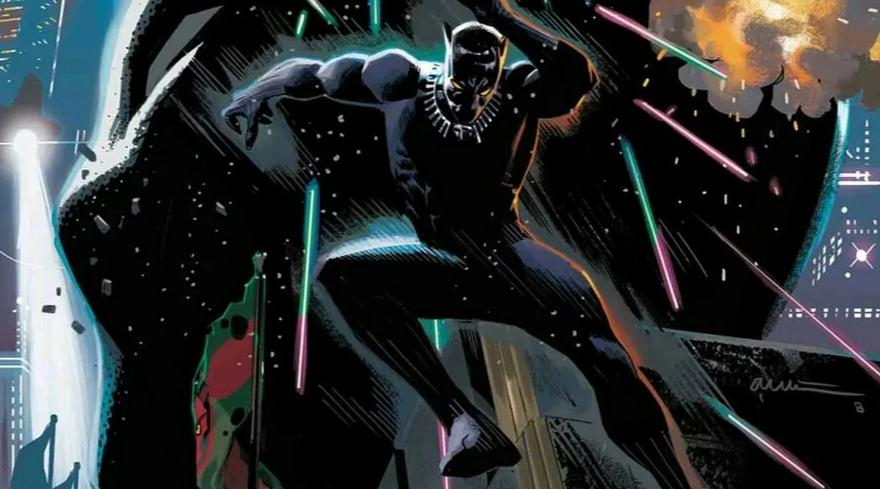 black panther(2018) the intergalactic empire of wakanda #2 ile ilgili görsel sonucu