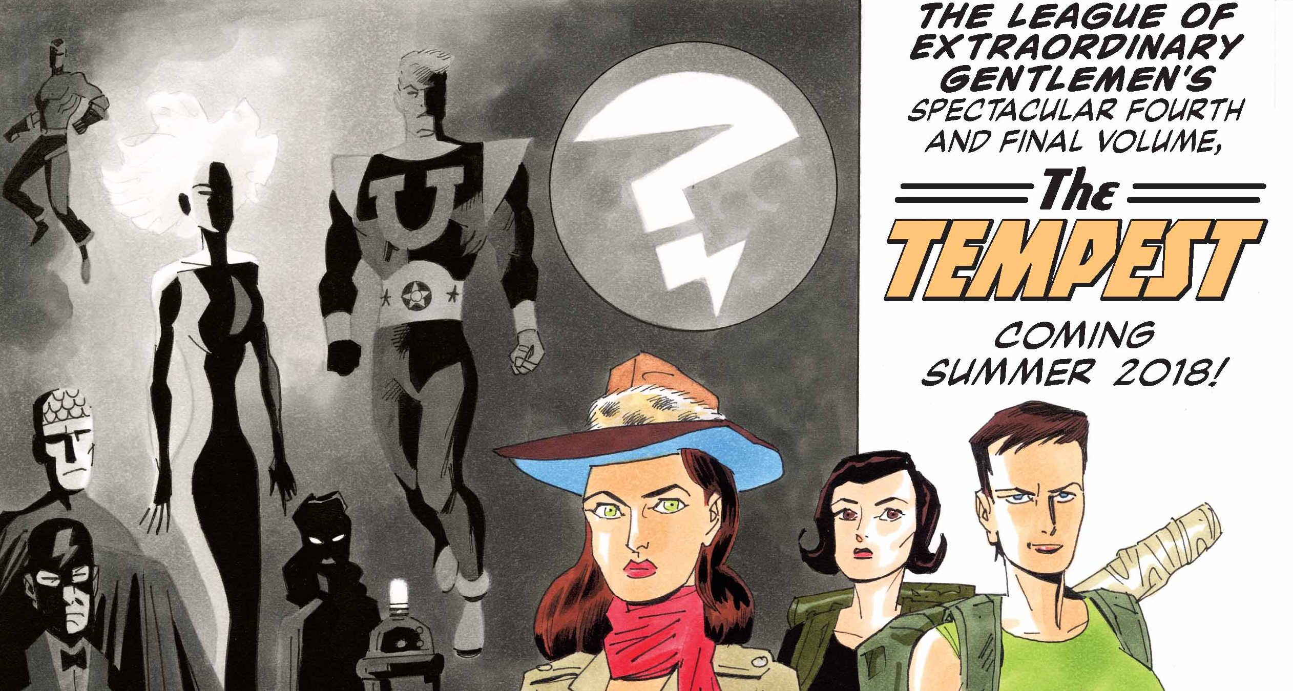 The League Of Extraordinary Gentlemen Tempest 1 Review