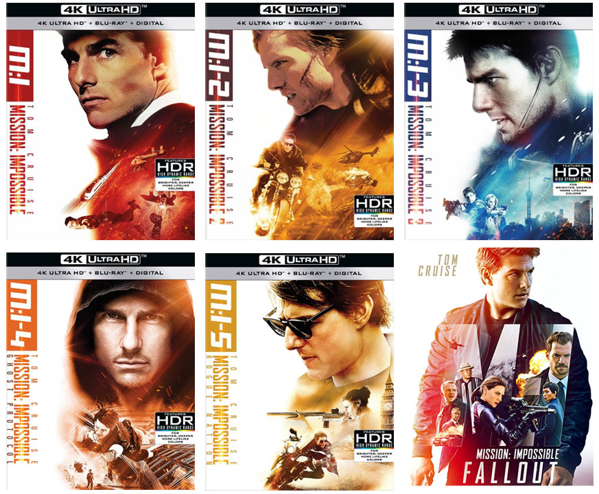 Blu-ray Review: Mission: Impossible 1-5 ⋆