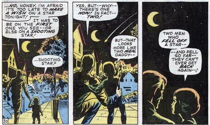 ... and the story ends with Klaatu and Captain Cybor drifting off into the  sun and The Hulk and The Abomination drifting back into Earth s atmosphere 6153a90f4