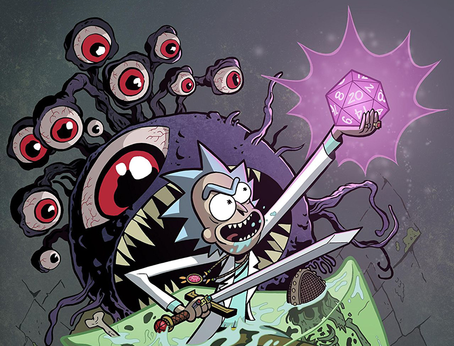 Rick and Morty vs. DnD
