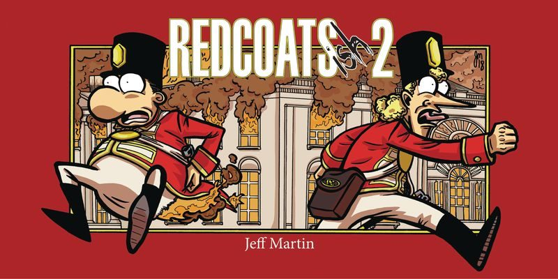 Redcoats-ish 2 Graphic Novel Advanced Review