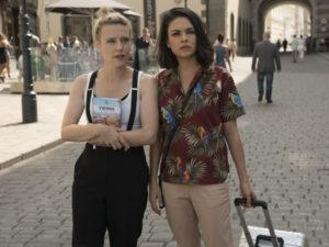 "Still of Mila Kunis and Kate McKinnon in ""The Spy Who Dumped Me"" (2018)"